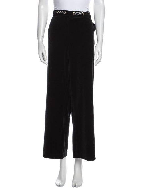 St. John Wide Leg Pants Black - image 1
