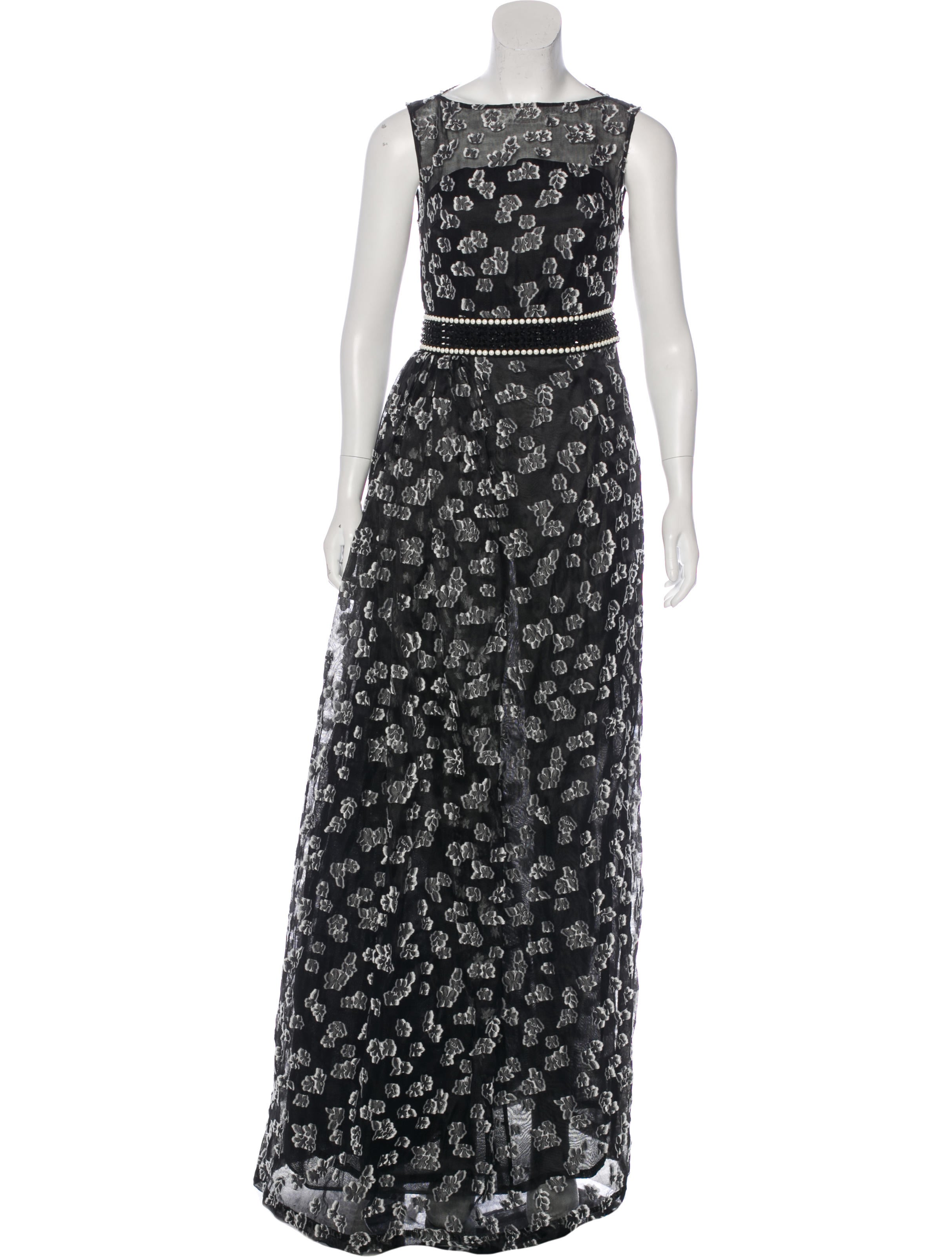 St. John Embellished Evening Dress w/ Tags - Clothing - STJ21385 ...