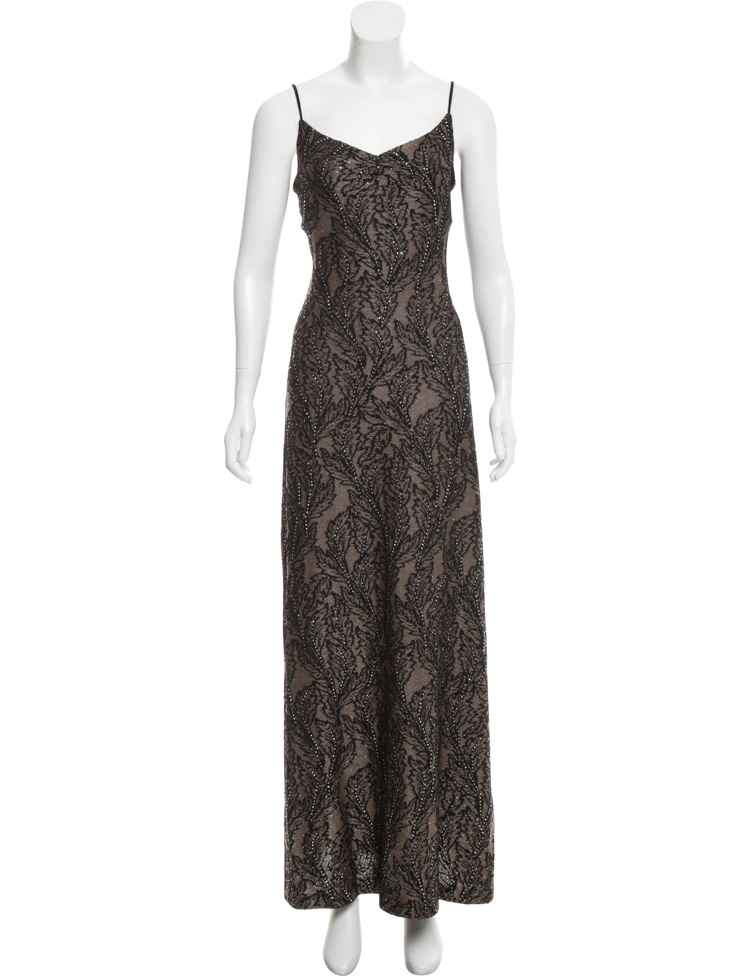 St. John Embellished Evening Dress - Clothing - STJ21394 | The RealReal