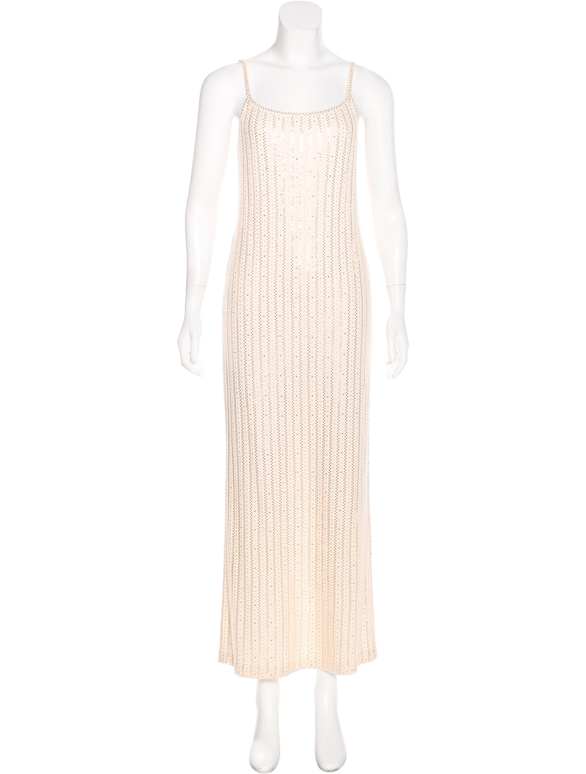 St. John Sequin Evening Dress - Clothing - STJ22608 | The RealReal
