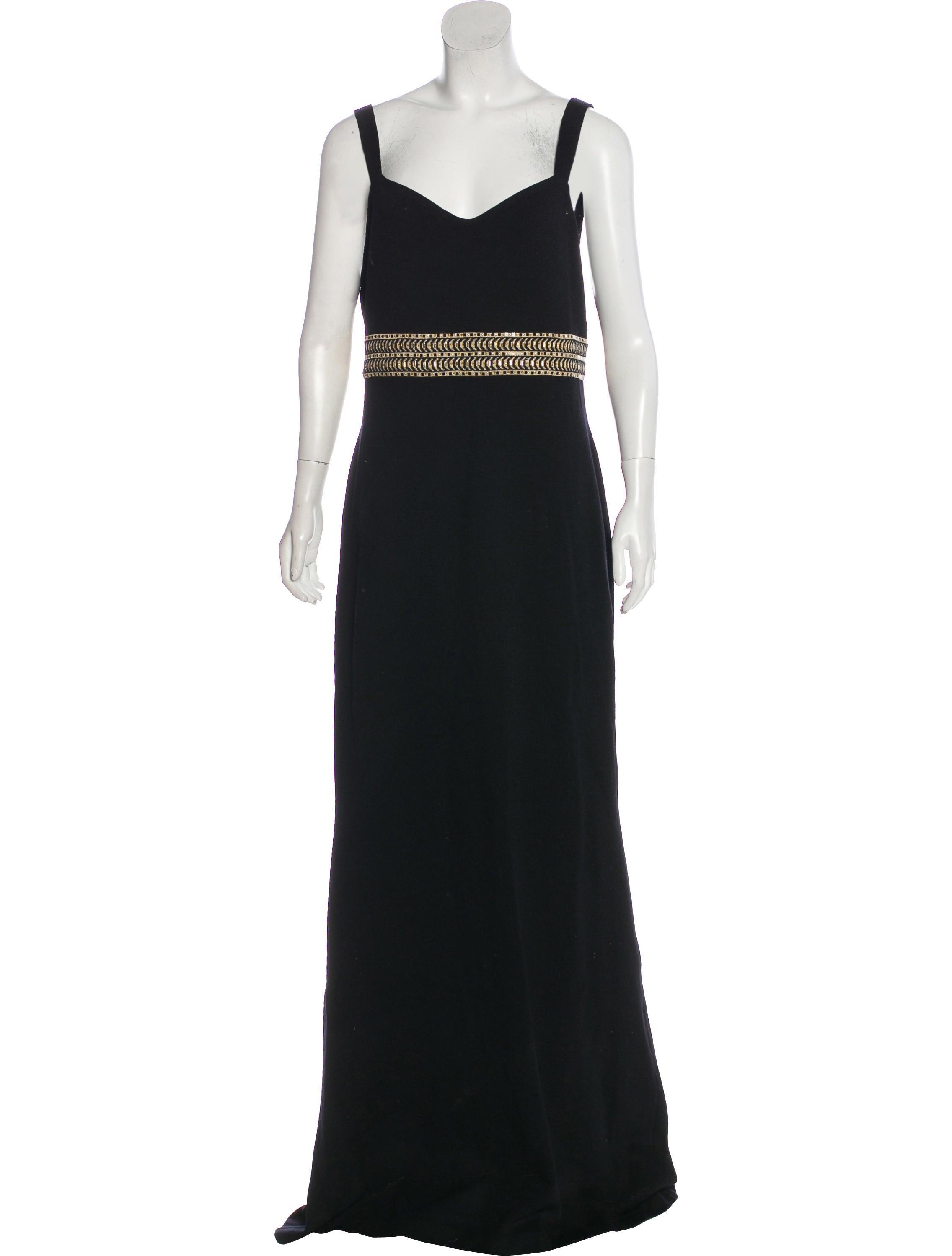 St. John Sleeveless Evening Dress - Clothing - STJ25236 | The RealReal