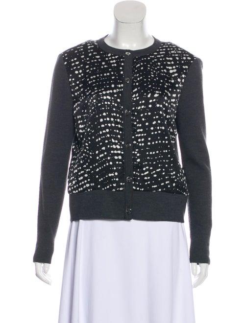 St. John Wool Tie-Dye Print Sweater Wool