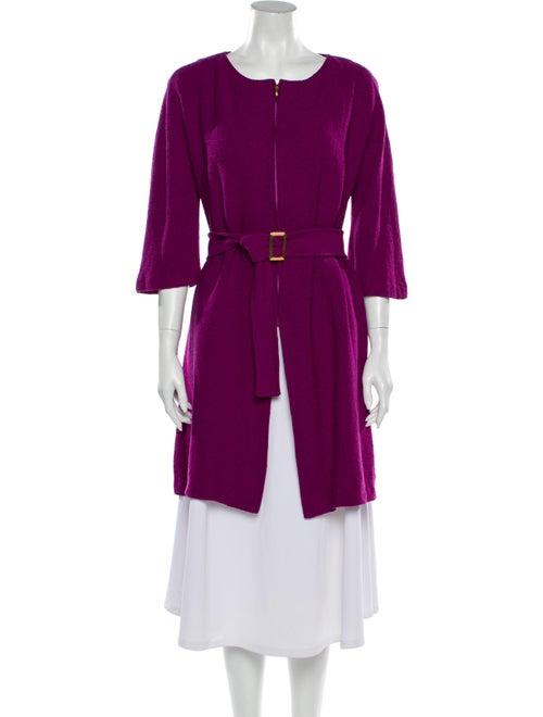 St. John Trench Coat Pink