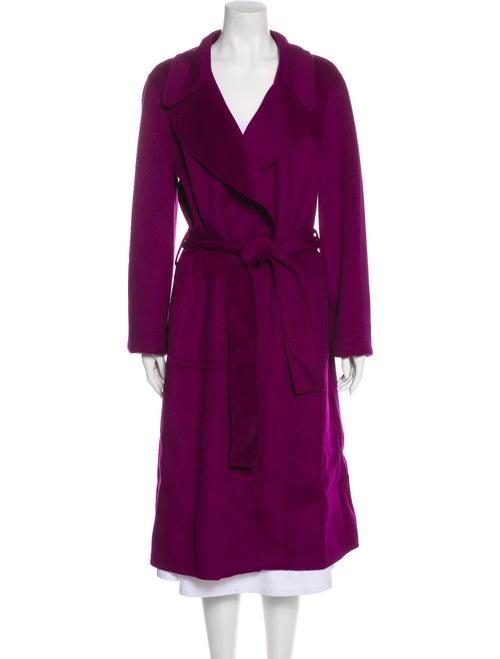 St. John Trench Coat w/ Tags Purple