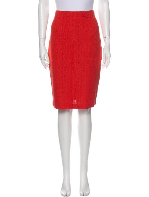 St. John Knee-Length Skirt Metallic