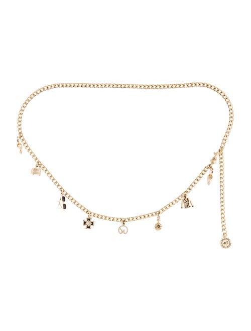 St. John Chain-Link Belt Gold