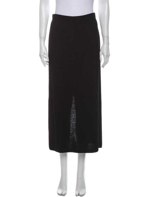 St. John Vintage Midi Length Skirt Wool