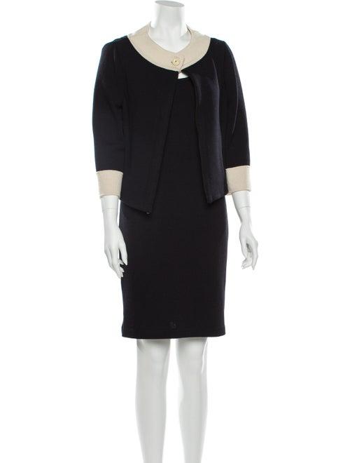 St. John Dress Set Black