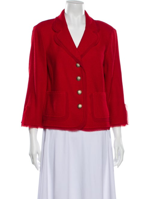 St. John Blazer Red