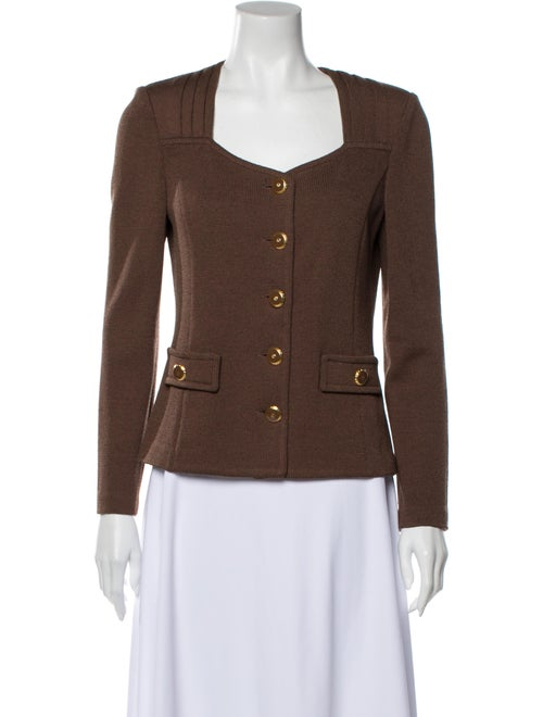 St. John Blazer Brown