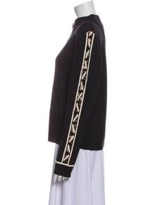 St. John Wool Mock Neck Sweater w/ Tags