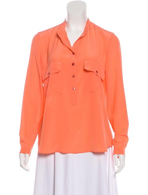 Stella McCartney Silk Long Sleeve Blouse