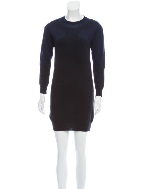 Stella McCartney Knit Sweater Dress Black