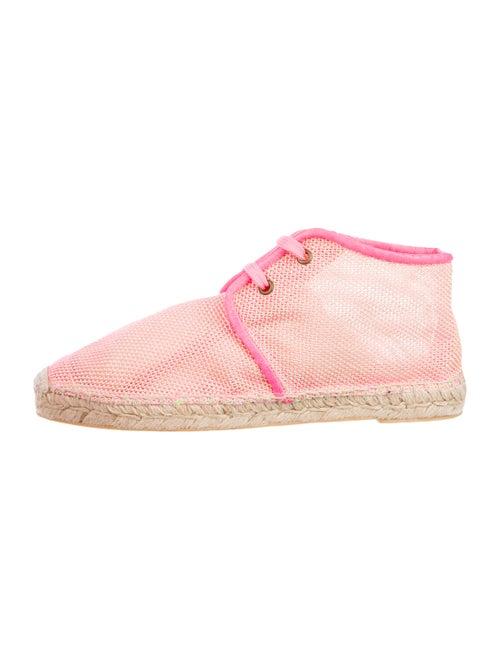 Stella McCartney Espadrille Ankle Boots Neon