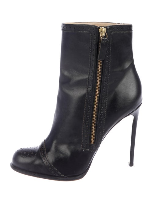 Stella McCartney Vegan Ankle Boots Black