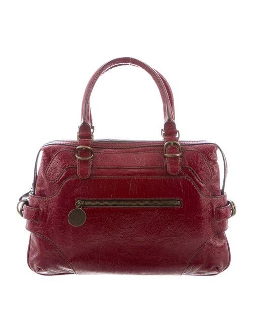 Stella McCartney Vegan Patent Leather Handle Bag b