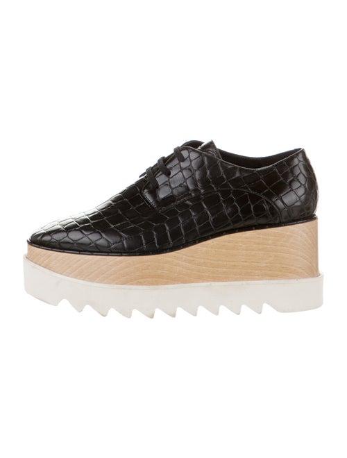 Stella McCartney Vegan Leather Platform Sneakers B