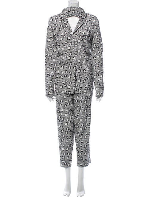 Stella McCartney Silk Printed Pajama Set w/ Tags N