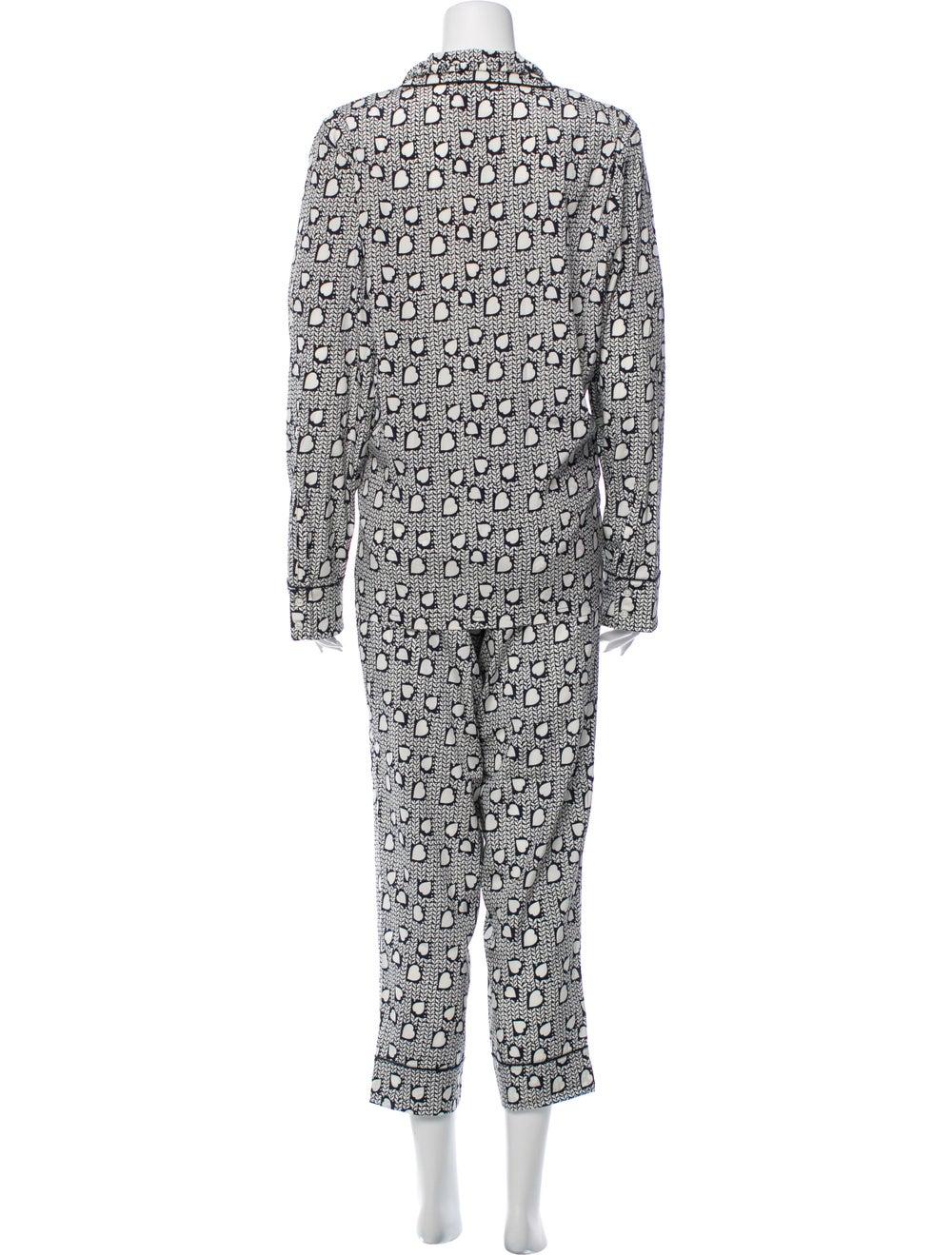 Stella McCartney Silk Printed Pajama Set w/ Tags … - image 3