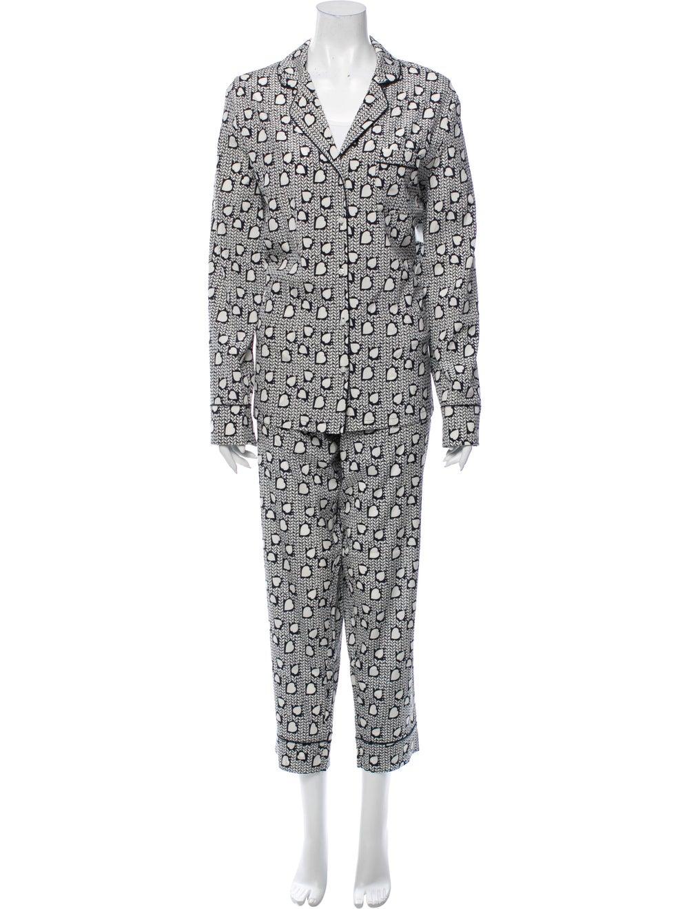 Stella McCartney Silk Printed Pajama Set w/ Tags … - image 4
