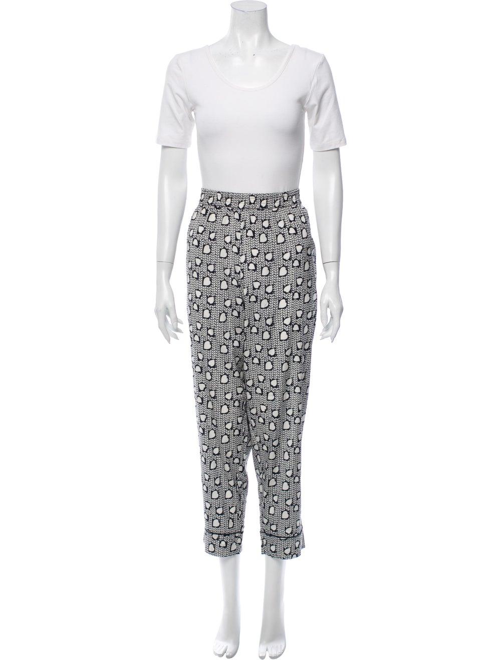 Stella McCartney Silk Printed Pajama Set w/ Tags … - image 5