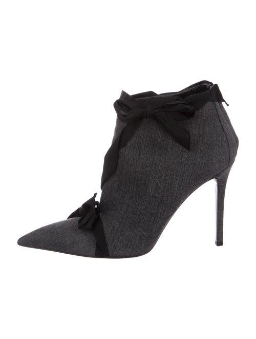 Stella McCartney Lace-Up Boots Grey
