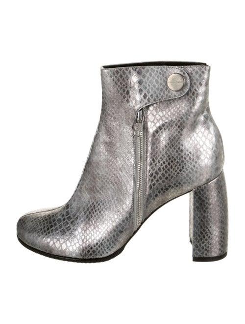 Stella McCartney Vegetarian Leather Boots Metallic