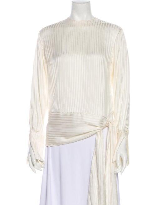 Stella McCartney 2017 Silk Blouse White
