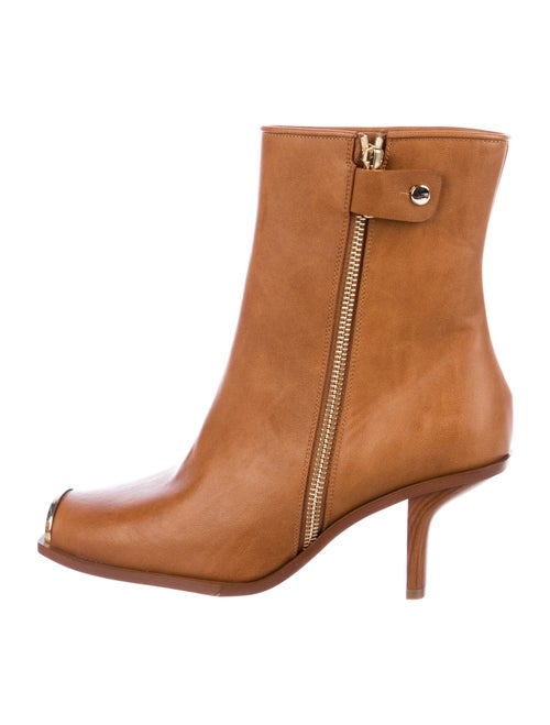 Stella McCartney Vegetarian Leather Boots Brown
