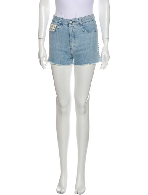Stella McCartney Mini Shorts Blue