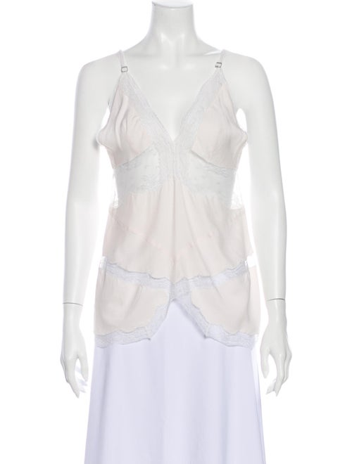 Stella McCartney 2004 Silk Blouse White