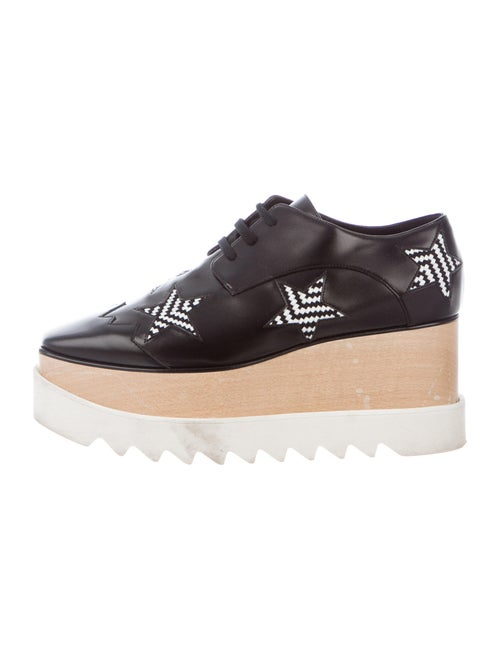 Stella McCartney Printed Oxfords Black