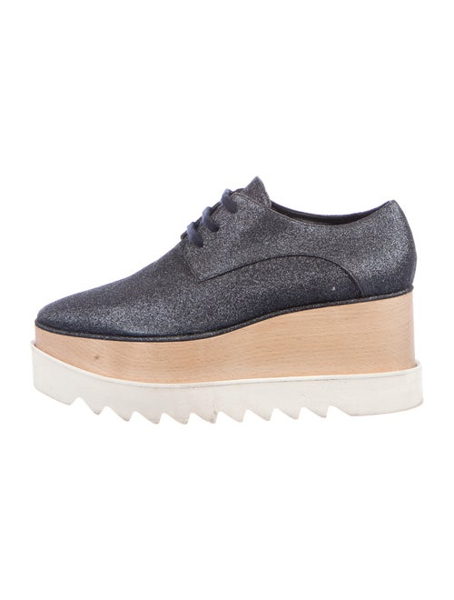 Stella McCartney Wedge Sneakers Blue