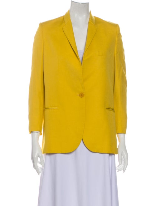 Stella McCartney Blazer Yellow