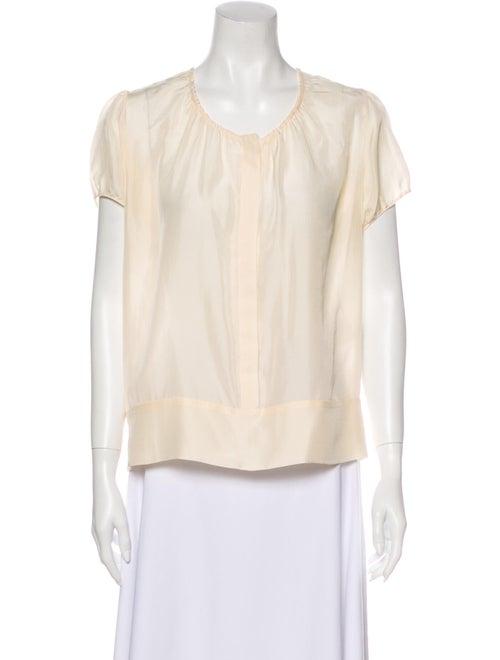 Stella McCartney 2008 Silk Blouse White