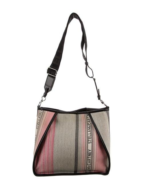 Stella McCartney 2019 Patchwork Shoulder Bag