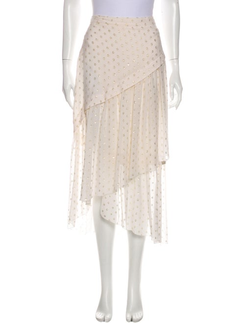 Stella McCartney Silk Midi Length Skirt w/ Tags Me