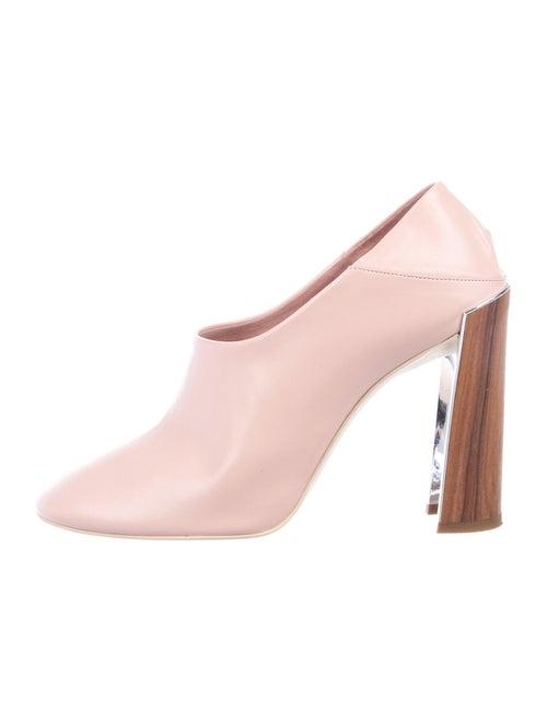 Stella McCartney Vegetarian Leather Boots Pink