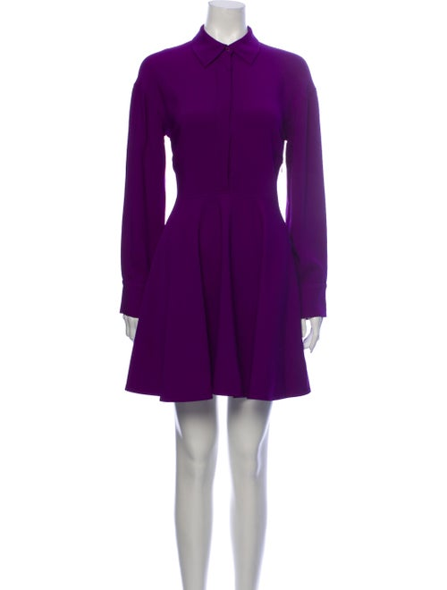 Stella McCartney Mini Dress Purple