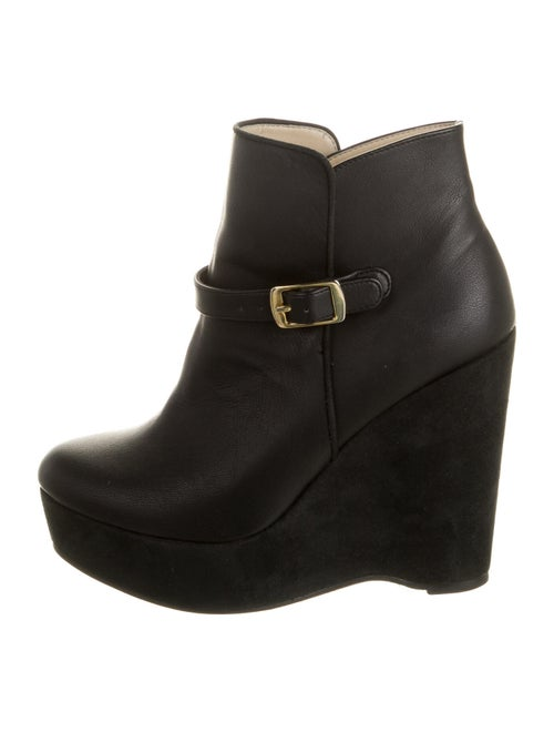 Stella McCartney Vegetarian Leather Boots Black