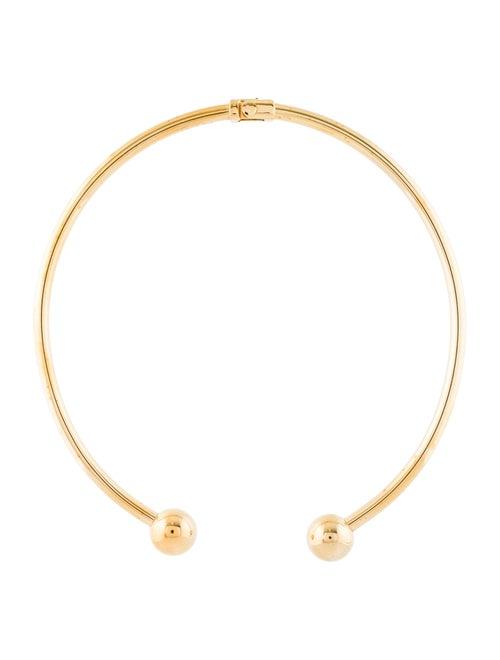 Stella McCartney Hinged Choker Necklace Brass