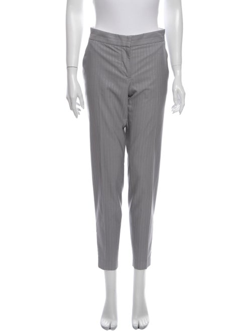 Stella McCartney Wool Skinny Leg Pants Wool