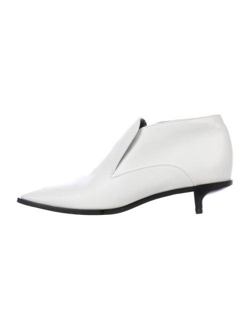 Stella McCartney Vegetarian Leather Boots White