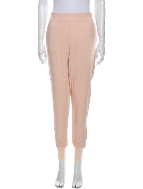 Stella McCartney Skinny Leg Pants Orange