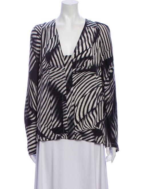 Stella McCartney Silk Striped Blouse