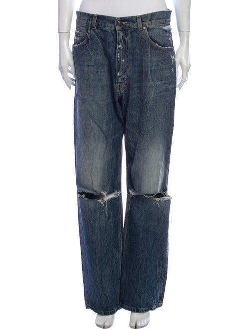 Stella McCartney Straight-Leg Jeans Blue