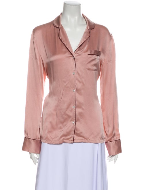 Stella McCartney Silk Pajamas Pink - image 1
