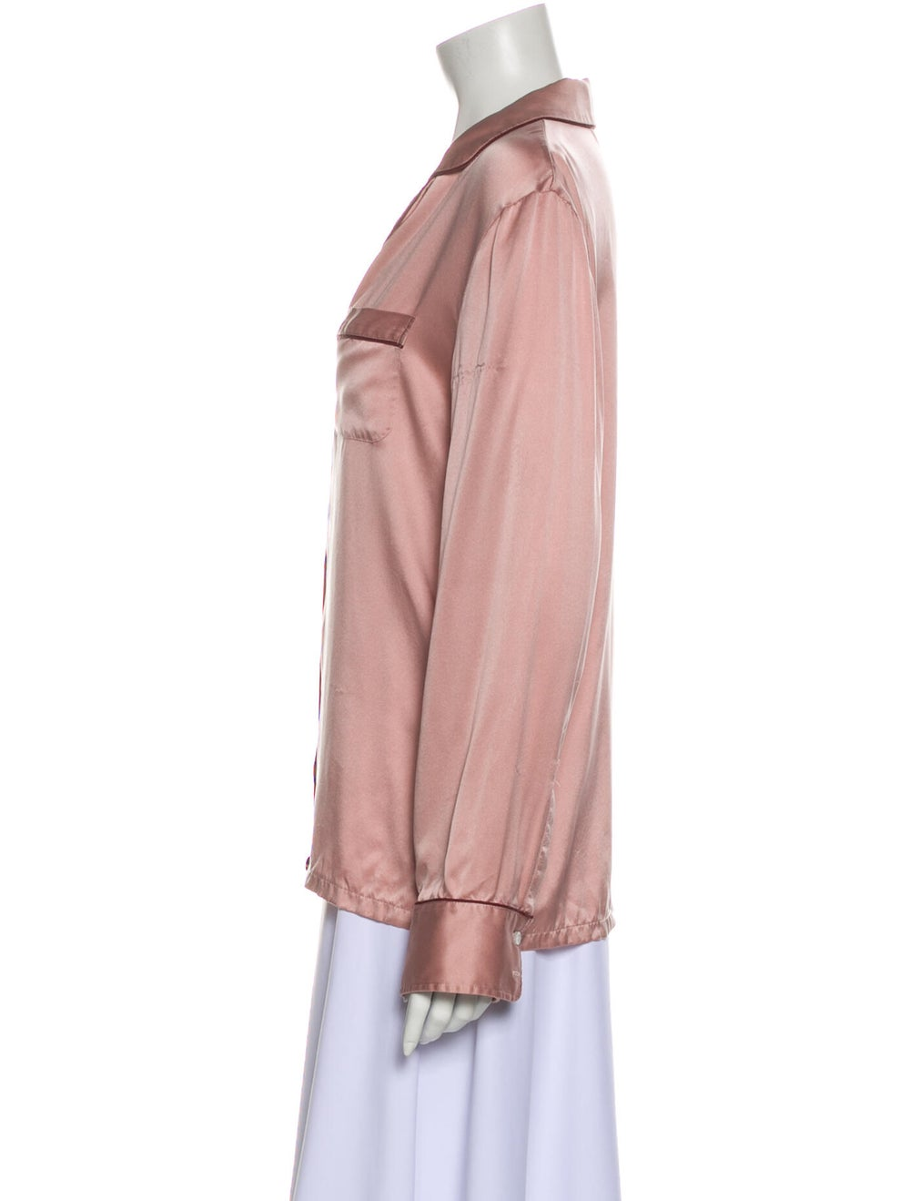Stella McCartney Silk Pajamas Pink - image 2