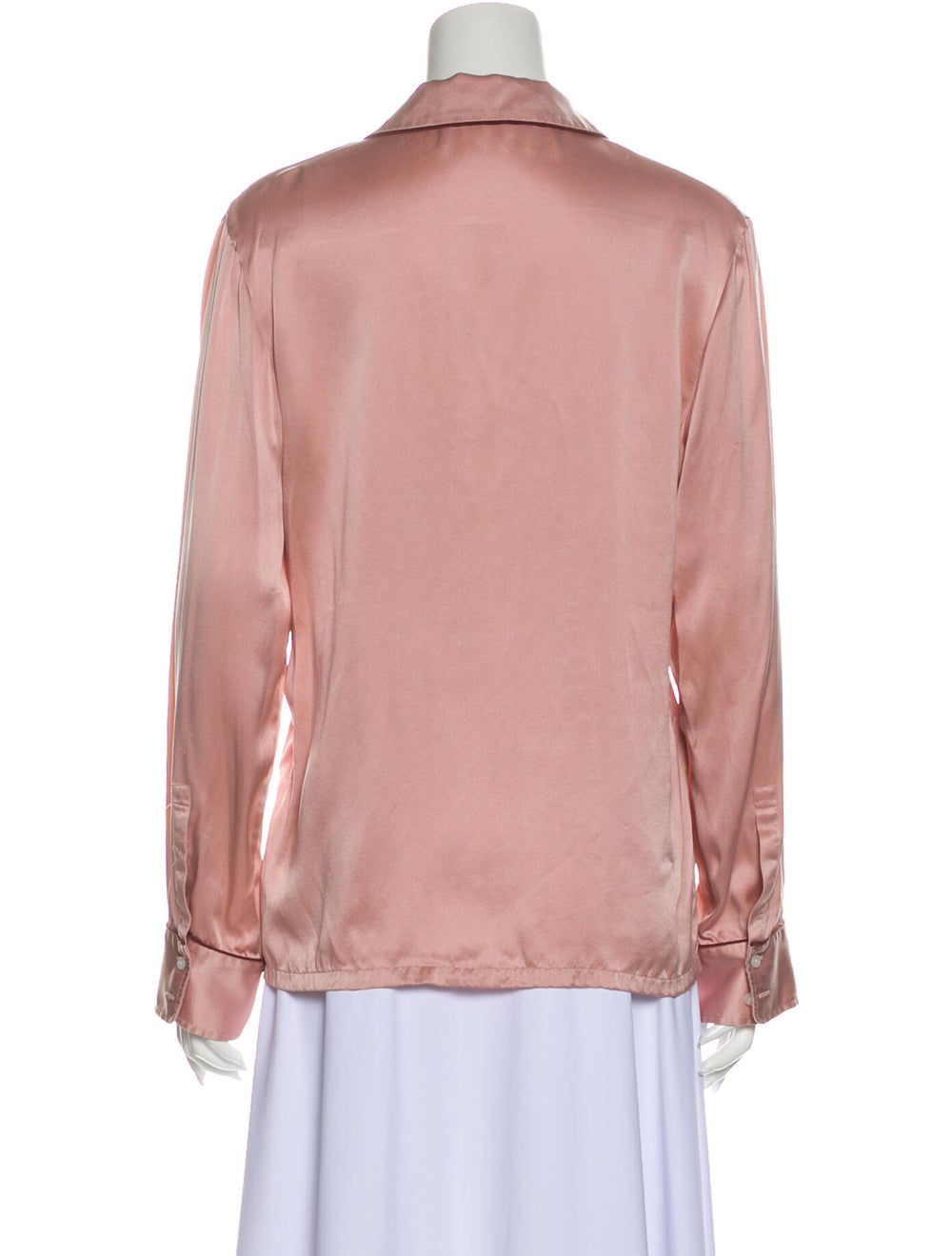 Stella McCartney Silk Pajamas Pink - image 3