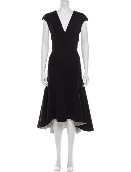 Stella McCartney Wool Long Dress Wool